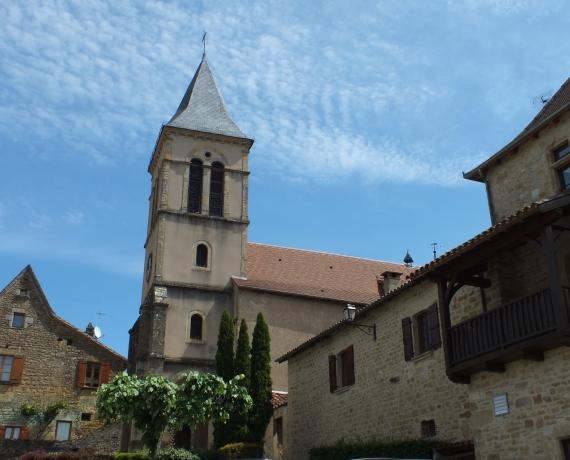 Église Saint-Médard à Saint-Médard-de-Presque dans le Lot