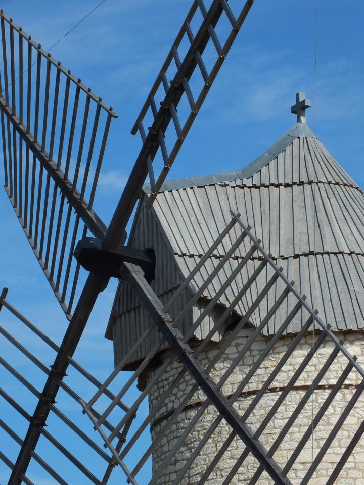 Le moulin de Boisse à Sainte-Alauzie
