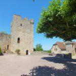 Capdenac-le-Haut. Le donjon ou la tour de Modon