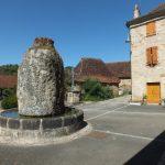 Fourmagnac. La fontaine du Griffoul