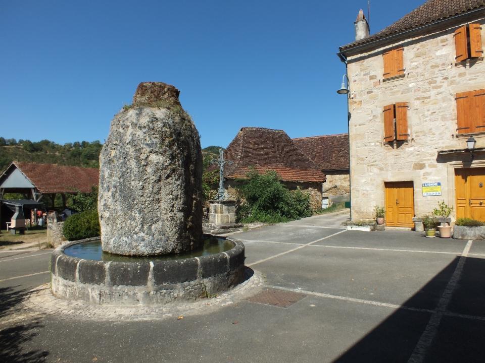 La fontaine de Griffoul à Fourmagnac