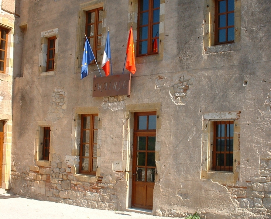 Mairies - Albas - La mairie - La mairie d'Albas (bourg)
