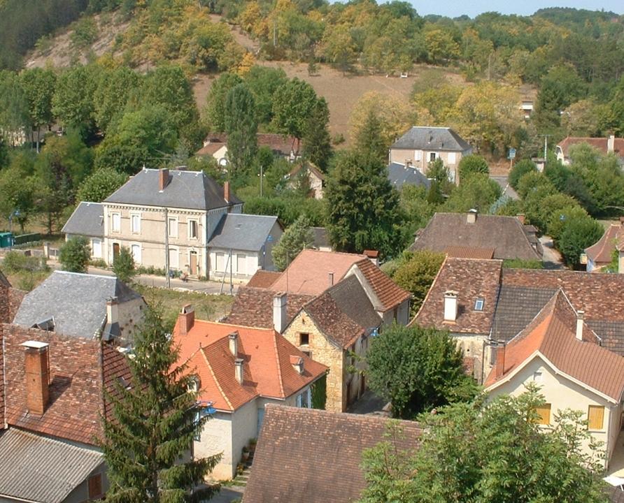 Circuits randonnée pédestre - Beaumat (Cœur de Causse) - Entre Causse et Bouriane - 13km (le bourg de Frayssinet)
