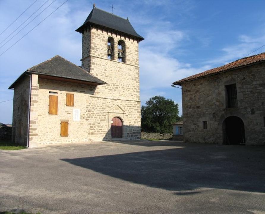 Circuits randonnée pédestre - Calviac (Sousceyrac-en-Quercy) - Circuit de Pontverny au Sentier Botanique - 17km (église Sainte-Luce de Pontverny à Calviac