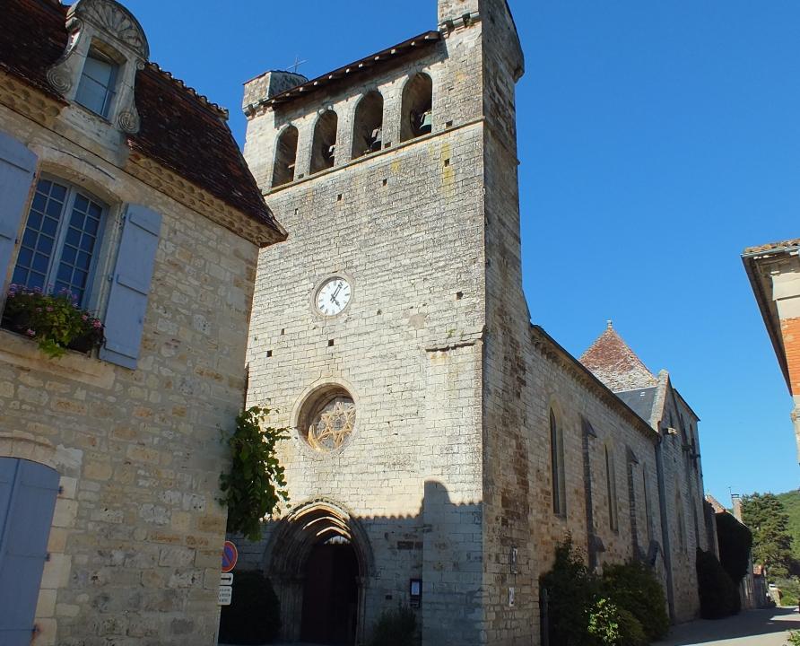 Circuits randonnée pédestre - Castelfranc - Circuit de la Croix de Selves - 6km (église Notre-Dame-de-l'Assomption à Castelfranc)