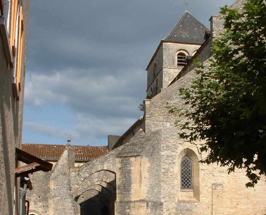 Circuits randonnée pédestre - Catus - Le Chemin des Prieurs - 8km (église de Catus)