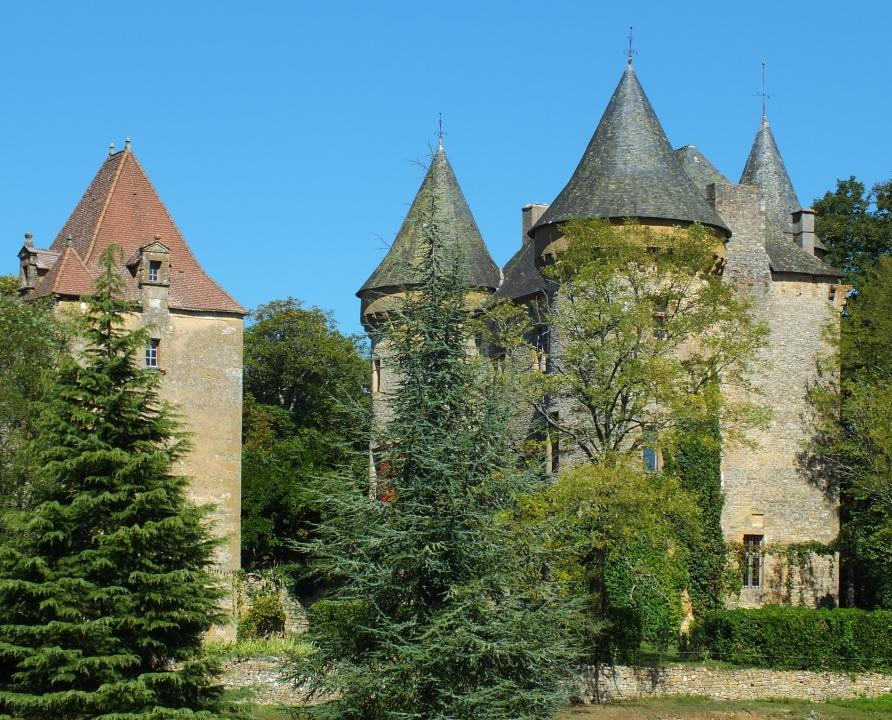 Circuit VTT - Cazals - La Route des Arts - 15km (Château de Montcléra)