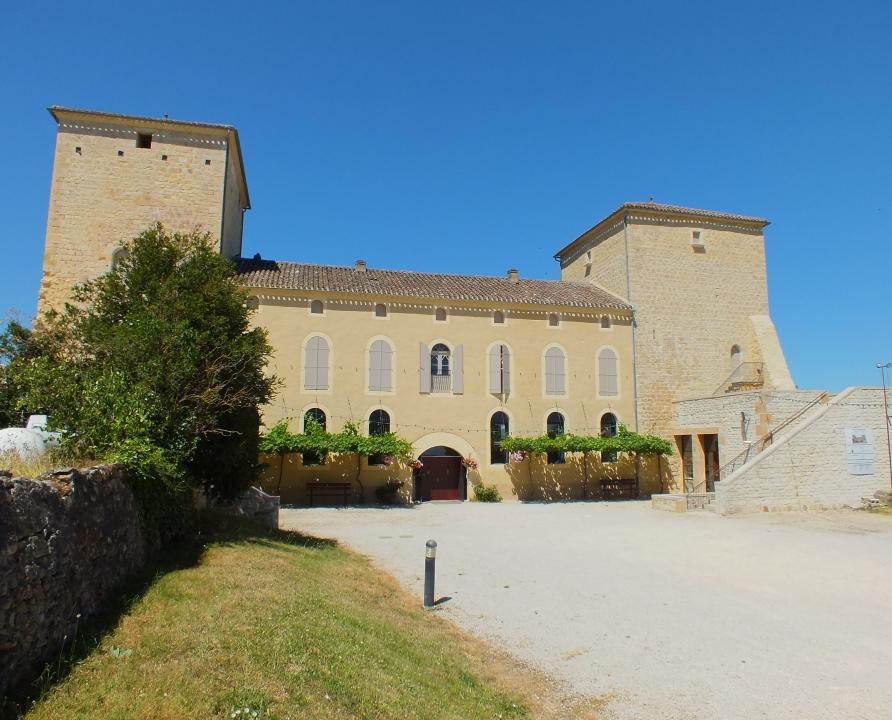 Circuits randonnée pédestre - Floressas - Chemin de Floressas à Sérignac - 8km (château de Floressas)