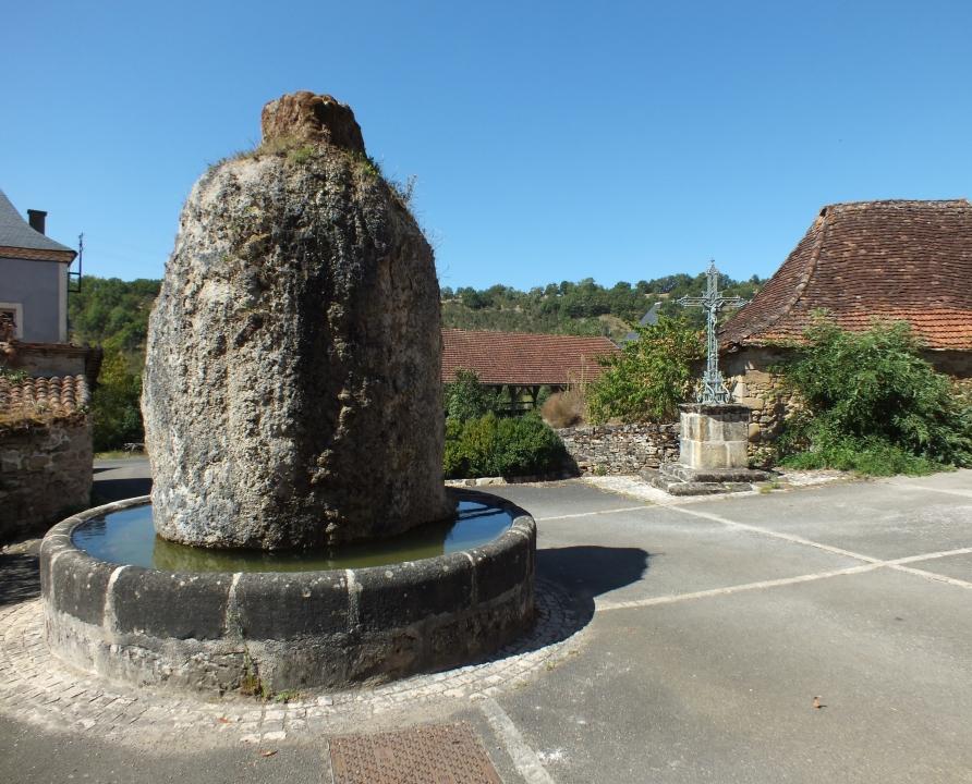 Fontaines & Puits - Fourmagnac - Fontaine du Griffoul - Fontaine du Griffoul (bourg)