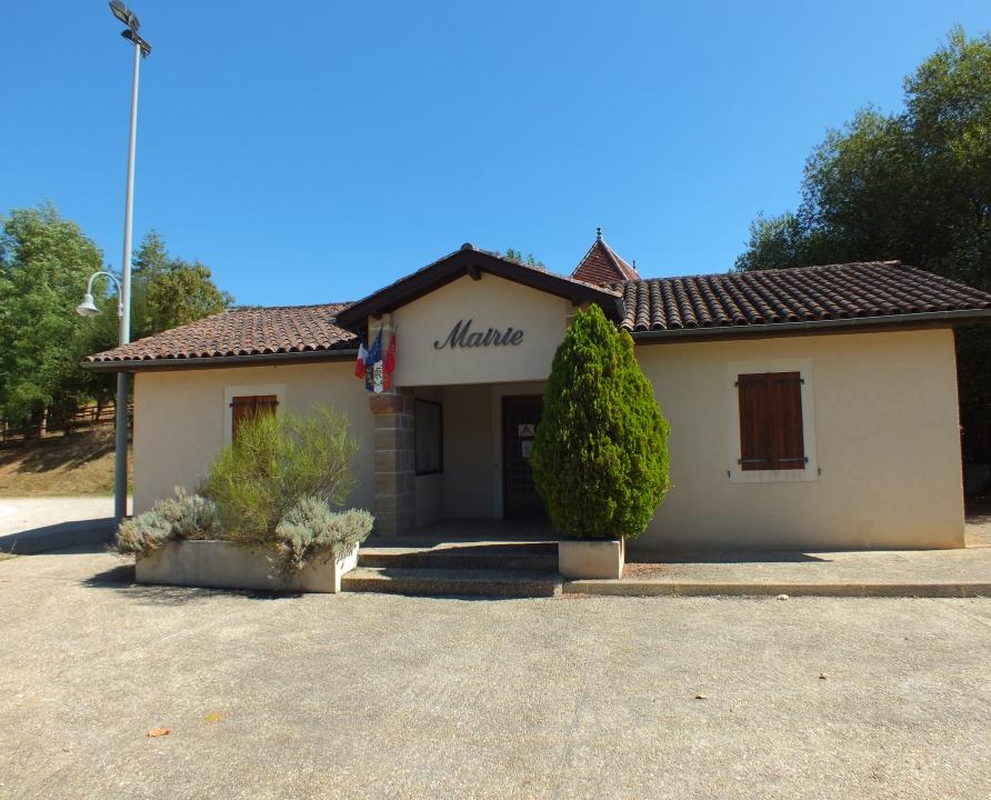 Mairies - Fourmagnac - La mairie - La mairie de Fourmagnac (bourg)