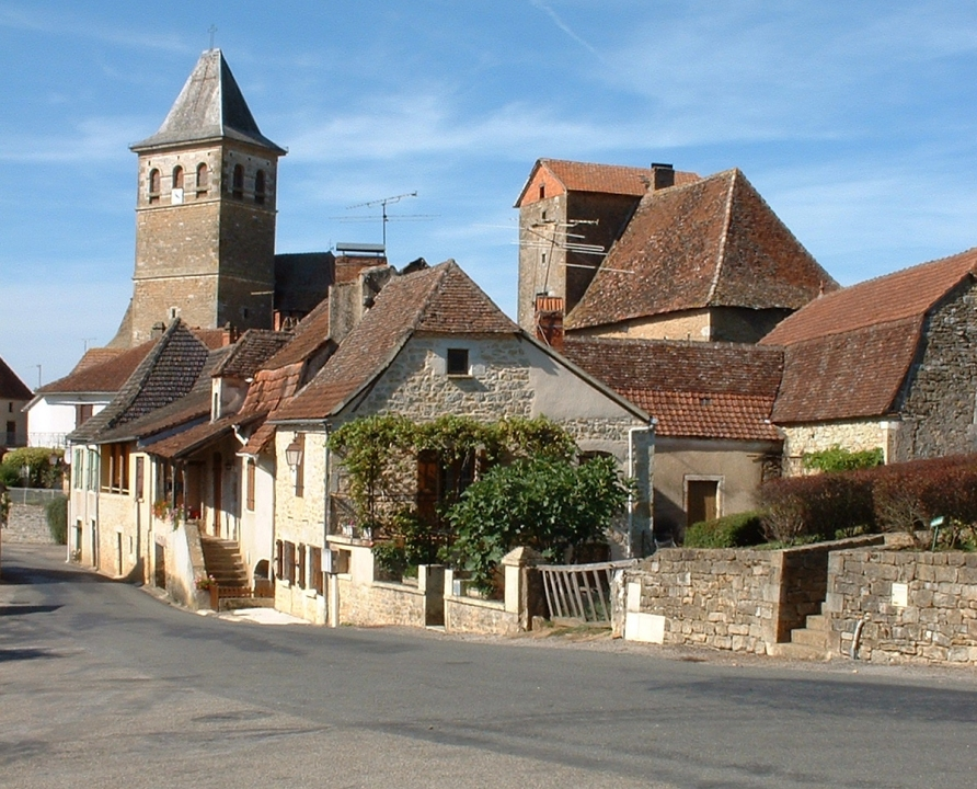 Circuit VTT - Lavergne - Balade sur le Causse de Gramat - 11km (le bourg de Bio)