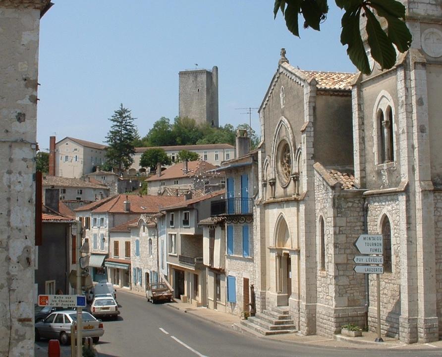 Circuit VTT - Montcuq (Montcuq-en-Quercy-Blanc) - Le Circuit du Petit Rapporteur - 18km (Montcuq)
