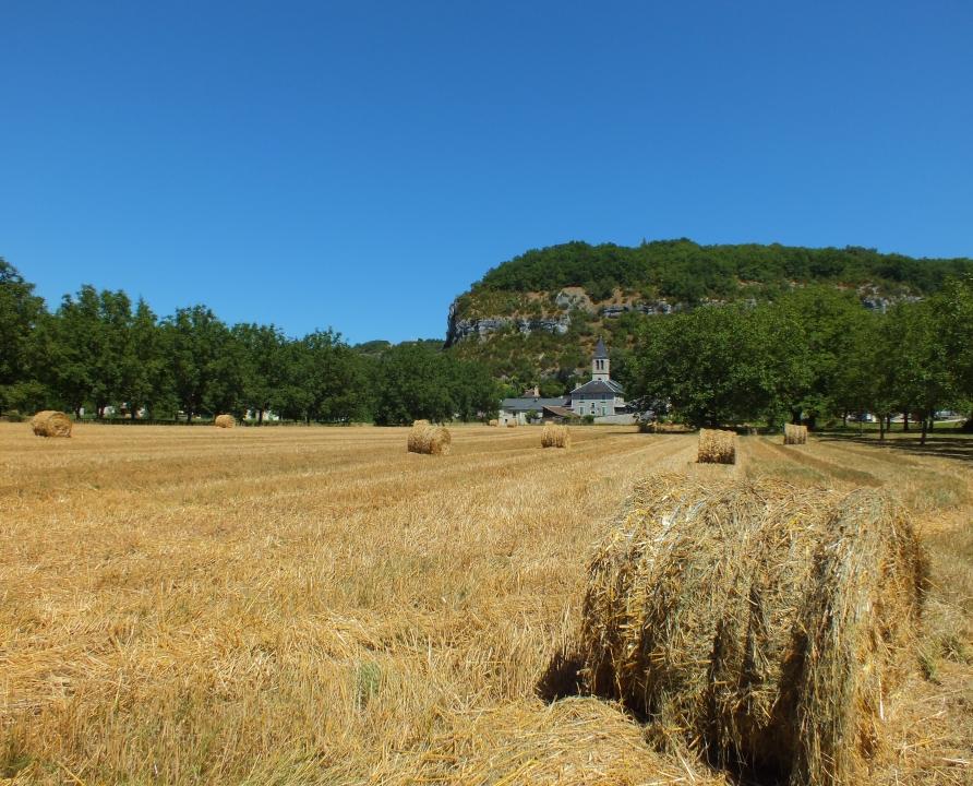 Circuit VTT - Rocamadour - Entre Ouysse et Causse - 26km (le bourg de Lacave)