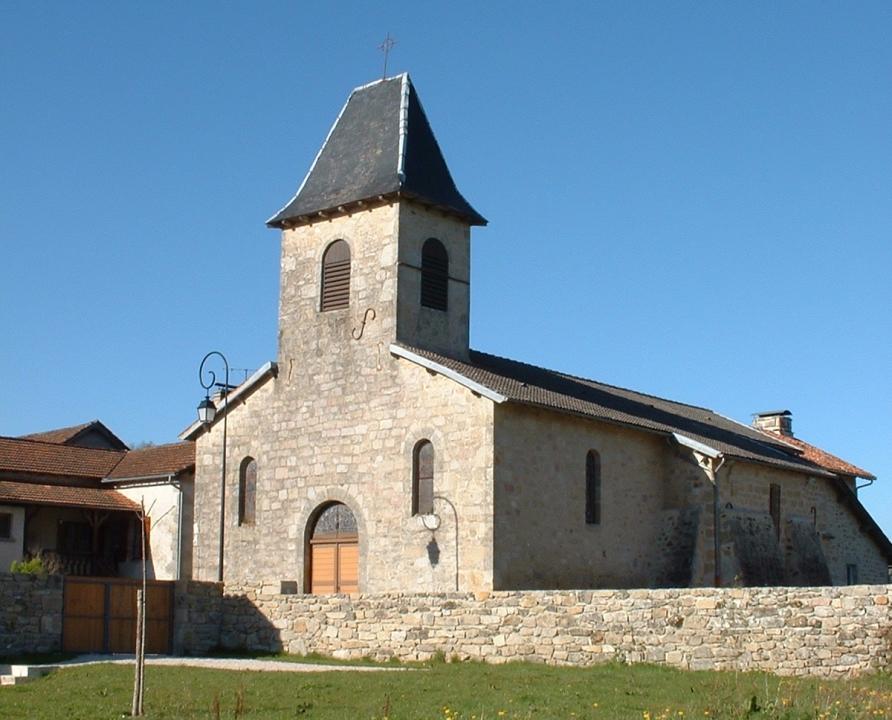 Circuit VTT - Sénaillac-Latronquière - Circuit du Lac du Tolerme - 15km (Église Saint-Cécile à Sénaillac-Latronquière)