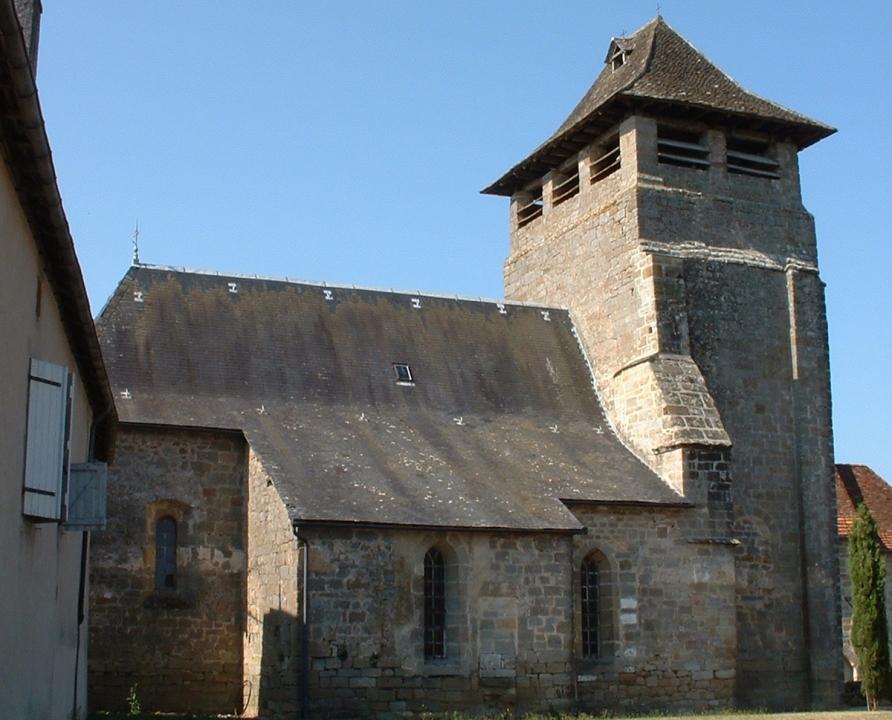 Églises & Abbayes - Anglars - Église Saint-Martin (bourg) - Église Saint-Martin à Anglars (bourg)