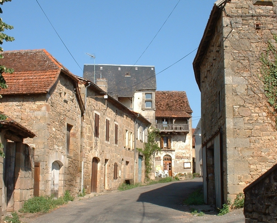 Rues & Ruelles - Anglars - Rues d'Anglars (bourg) - Rue principale d'Anglars (bourg)