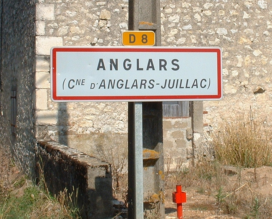 Communes - Anglars-Juillac - - Panneau du village de Anglars-Juillac