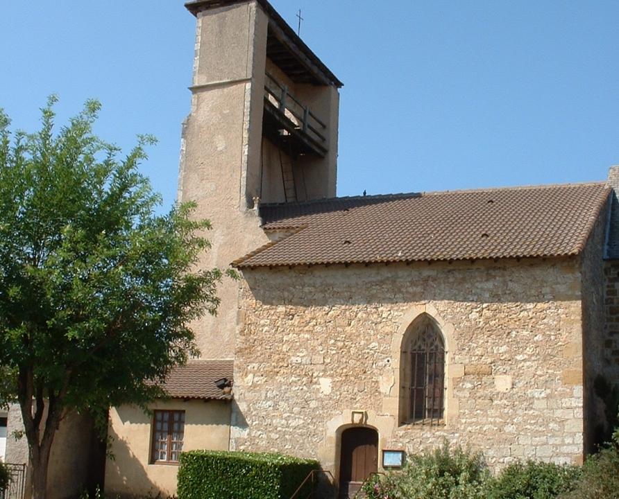 Églises & Abbayes - Anglars-Juillac - Église Saint-Laurent (Anglars) - Vue générale de l'église
