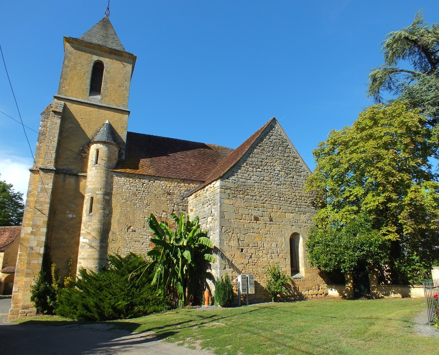 Églises & Abbayes - Anglars-Nozac - Église Saint-Pantaléon (Nozac) - Façade ouest de l'église