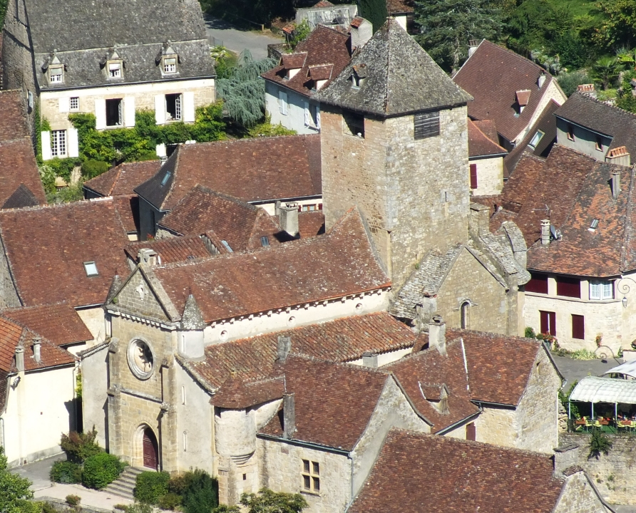 Églises & Abbayes - Autoire - Église Saint-Pierre (bourg) -