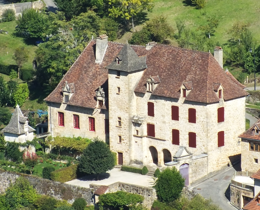 Demeures & manoirs - Autoire - Manoir dit Château de Busqueilles -