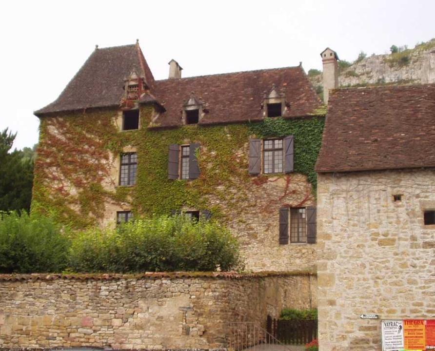 Demeures & manoirs - Autoire - Manoir de Laroque-Delprat -