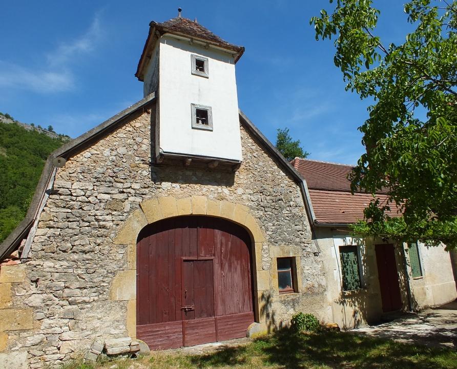 Granges - Autoire - Belle grange (Merlet) -