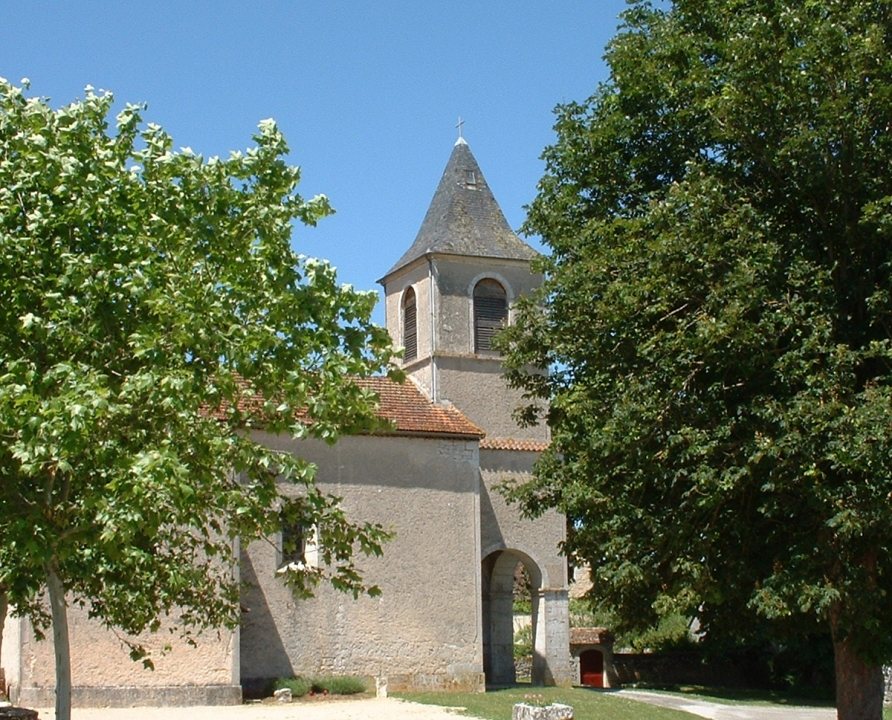 Églises & Abbayes - Le Bastit - Église (bourg) -