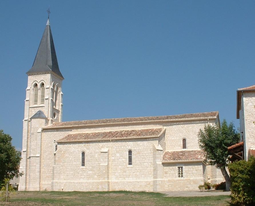 Églises & Abbayes - Belfort-du-Quercy - Église Notre-Dame (bourg) -