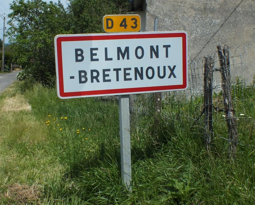 Communes - Belmont-Bretenoux - - Panneau du village de Belmont-Bretenoux