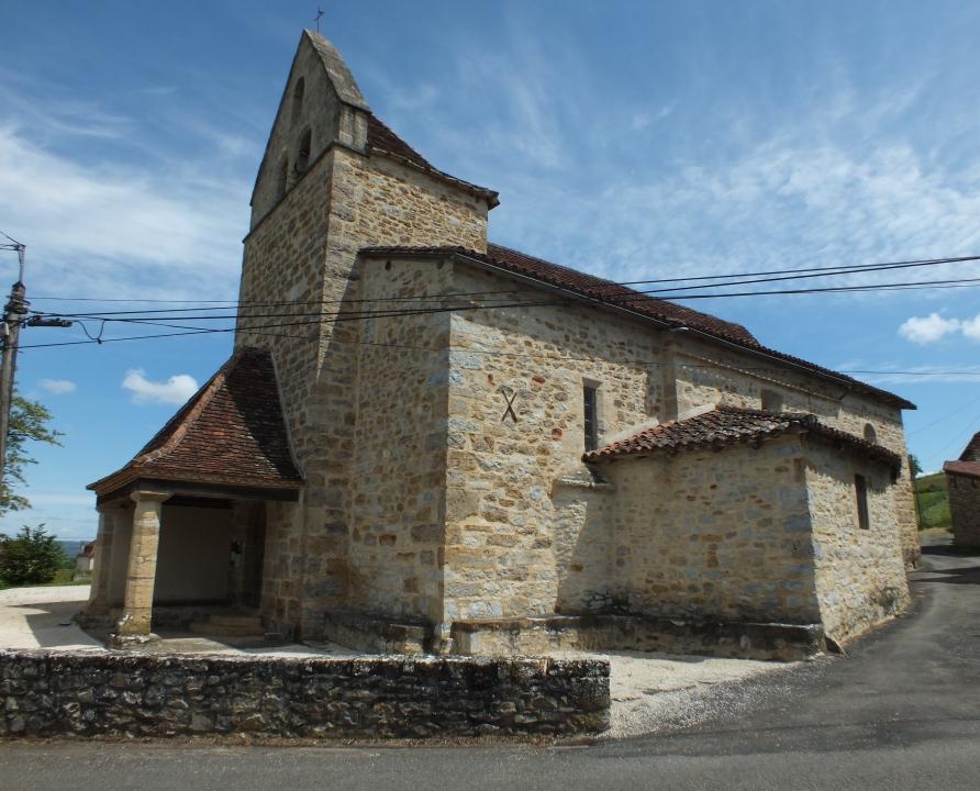 Églises & Abbayes - Belmont-Bretenoux - Église Saint-Cyr & Sainte-Juliette (bourg) -