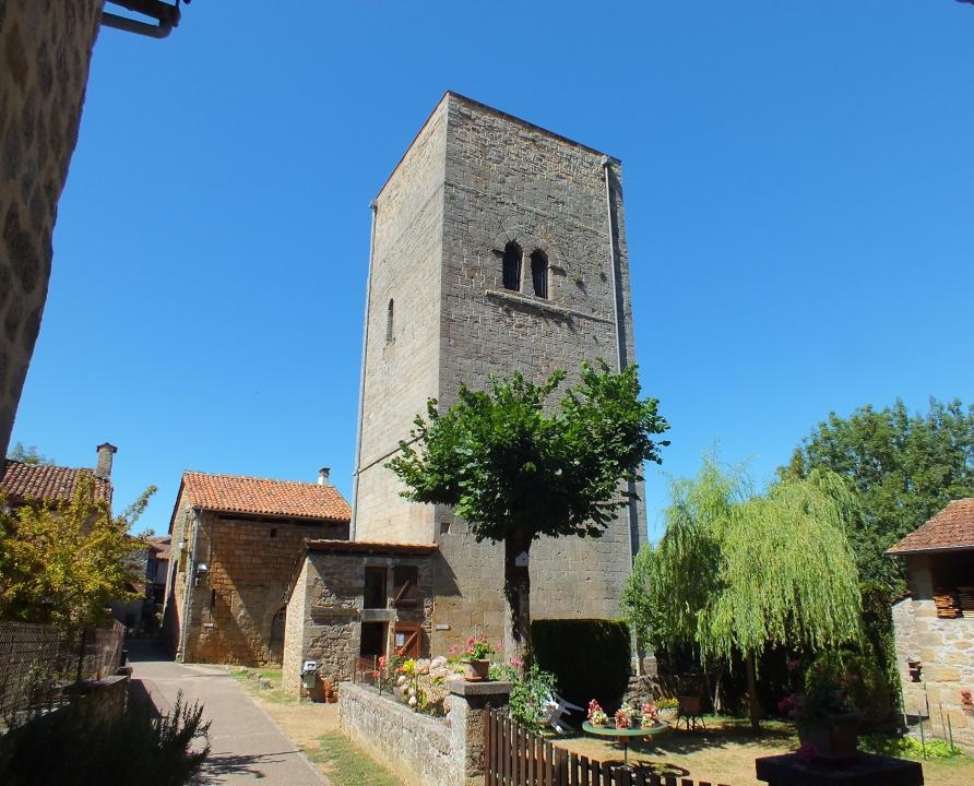 Châteaux & Fortifications - Cardaillac - Tour de Sagnes (bourg) -