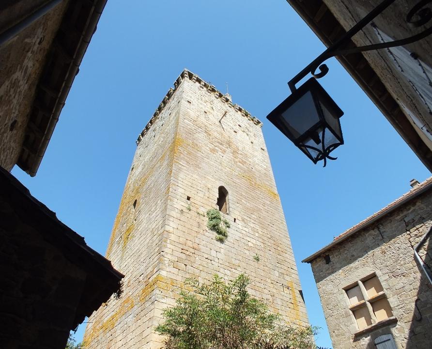 Châteaux & Fortifications - Cardaillac - Tour de l'Horloge (bourg) -