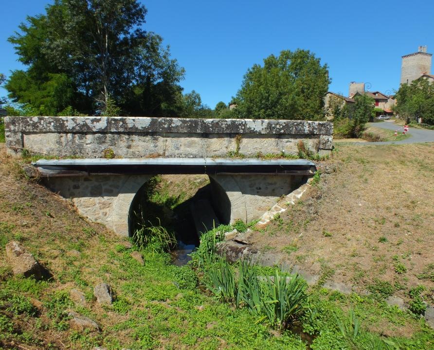 Ponts & Viaducs - Cardaillac - Pont sur le ruisseau du Murat (bourg) - -