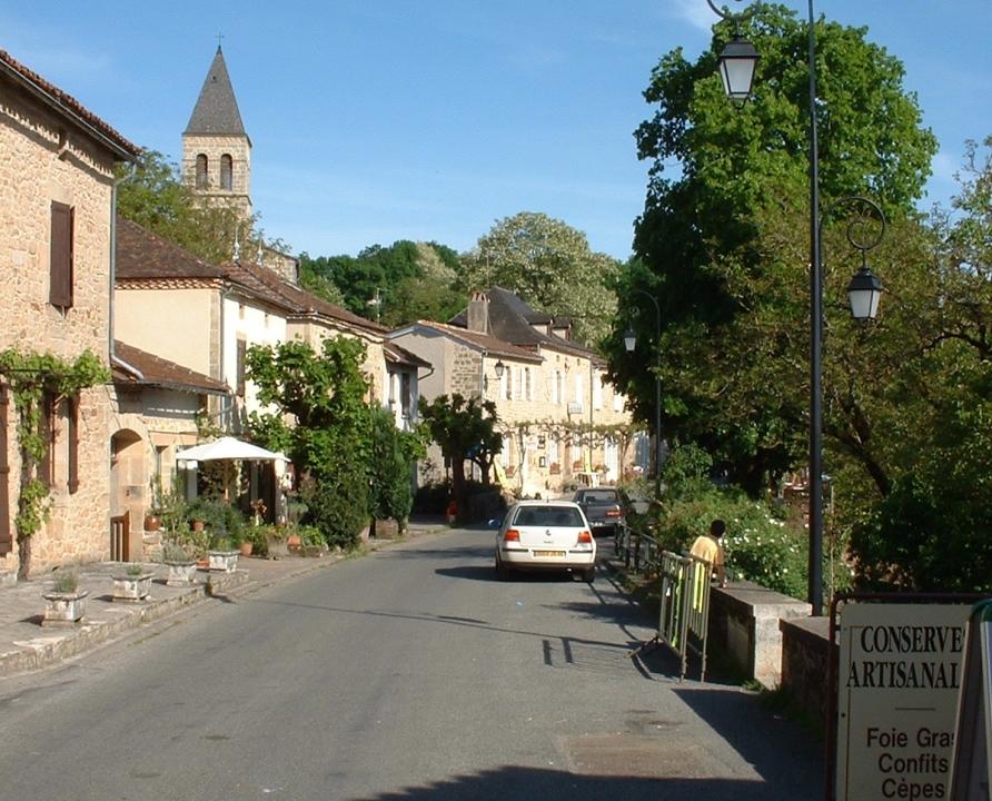 Rues & Ruelles - Cardaillac - Dans les rues du bourg - -