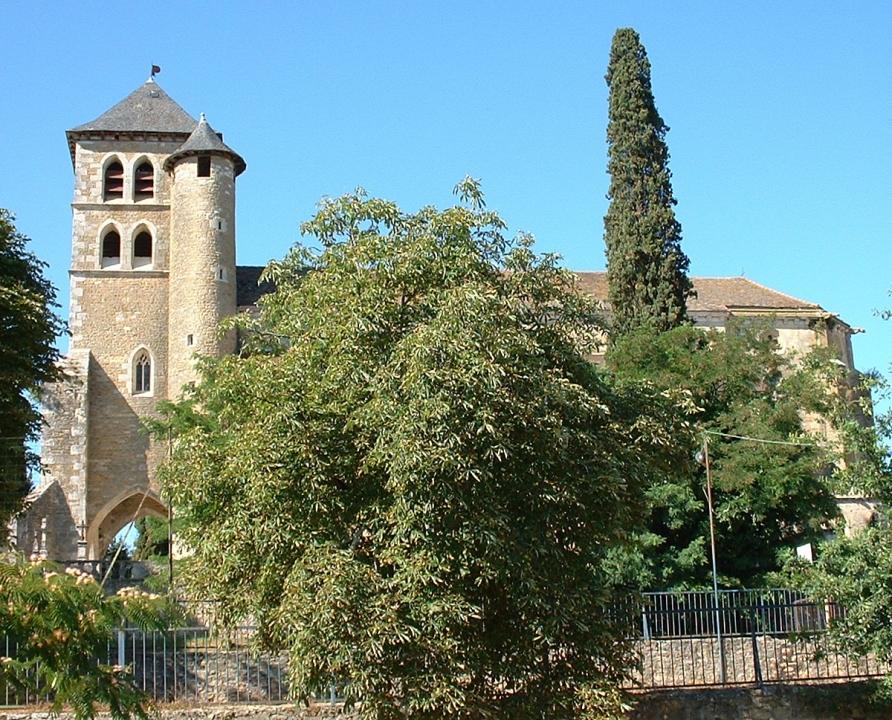 Circuits randonnée pédestre - Puy-l'Evêque - Le circuit des 7 églises - 19km (Église Saint-Sauveur à Puy-l'Évêque)
