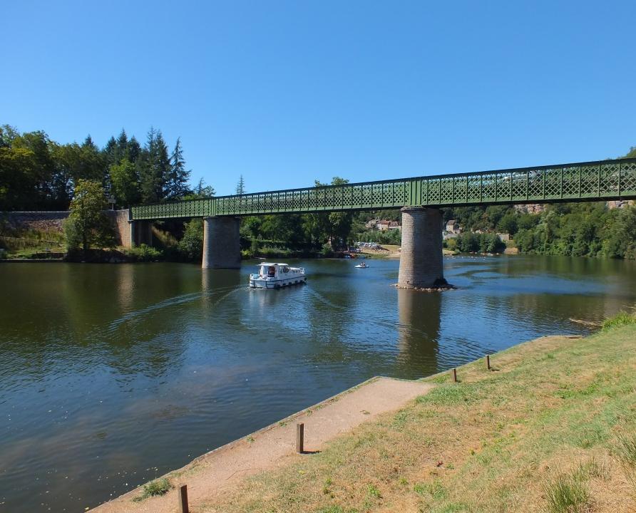 Ponts & Viaducs - Tour-de-Faure - Pont routier sur le Lot (Champs Grand) -