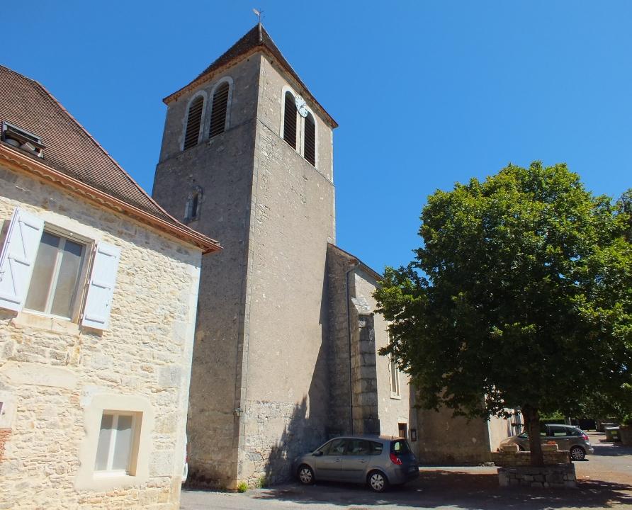 Églises & Abbayes - Tour-de-Faure - Église Saint-Étienne de Montagnac -