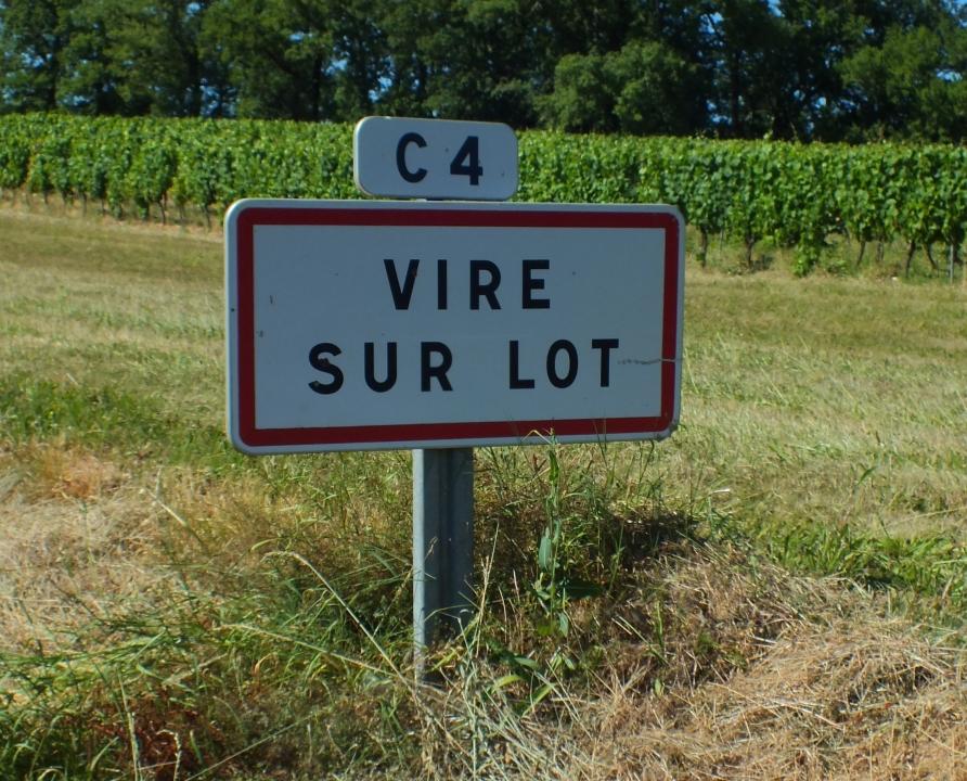 Communes - Vire-sur-Lot - - - Panneau du village de Vire-sur-Lot