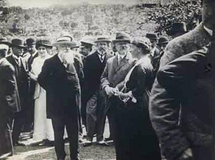 Cérémonie de donation du Château de Montal avec le Président Raymond Poincaré
