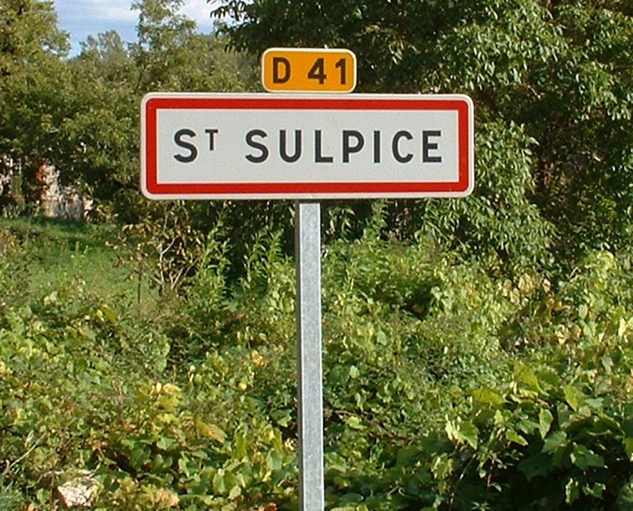 Communes - Saint-Sulpice - - Panneau du village de Saint-Sulpice