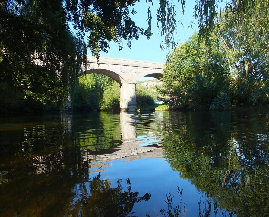 Ponts & Viaducs - Saint-Sulpice - Pont routier sur le Célé (bourg) -