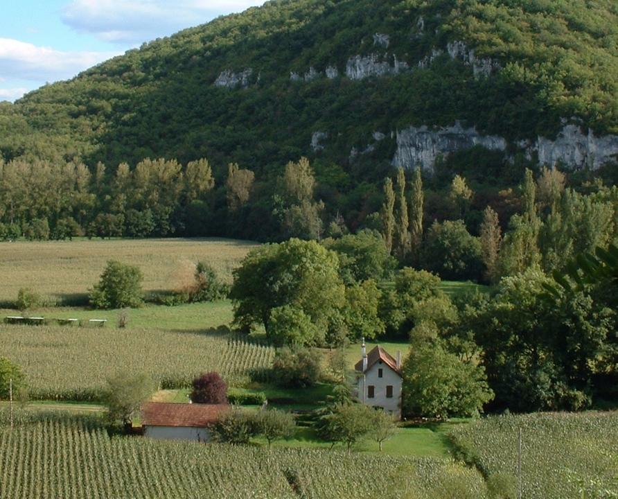 Points de vue - Saint-Sulpice - Point de vue sur la vallée (le Château) -