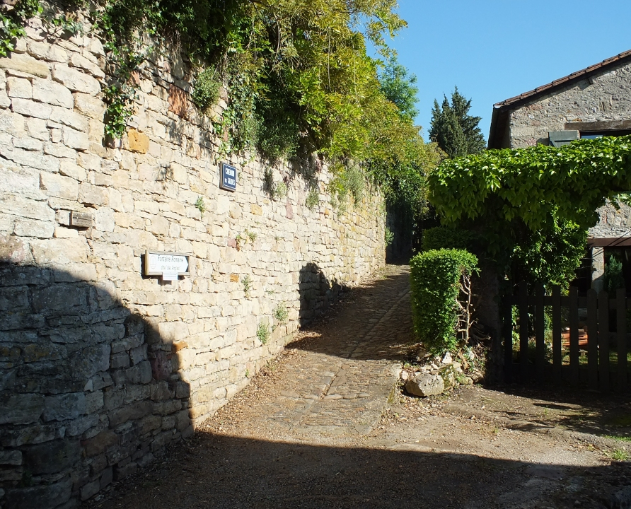 Rues & Ruelles - Capdenac - Chemin des Gardes -
