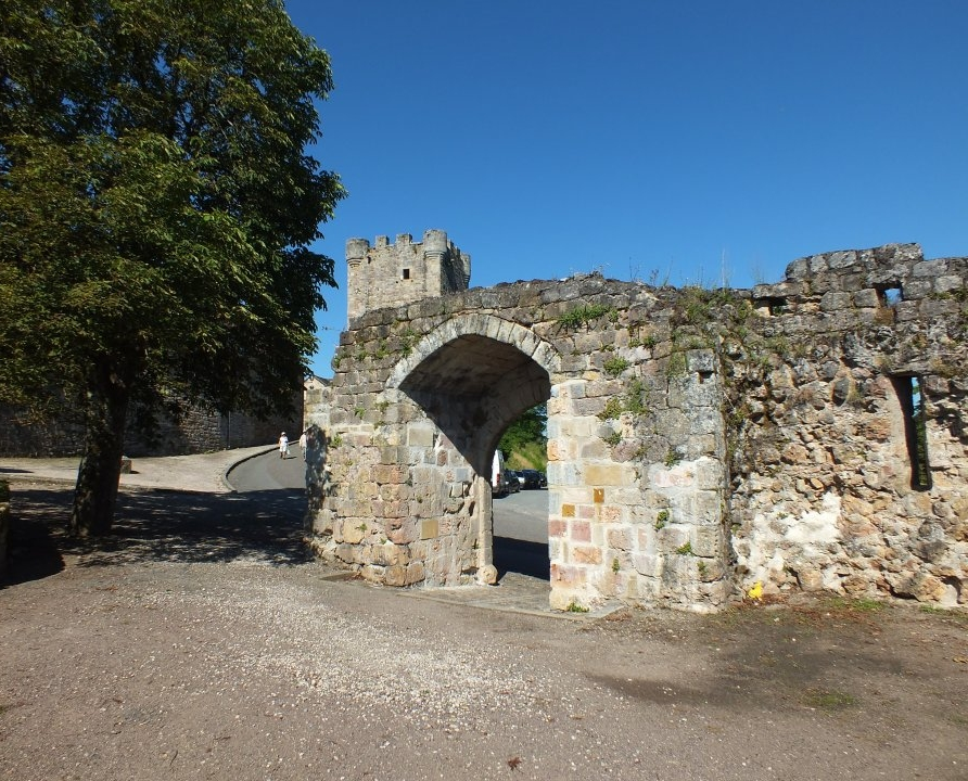 Châteaux & Fortifications - Capdenac - Porte de Gergovie (Capdenac-le-haut) -