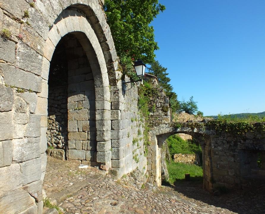 Châteaux & Fortifications - Capdenac - Porte Narbonaise (Capdenac-le-haut) -