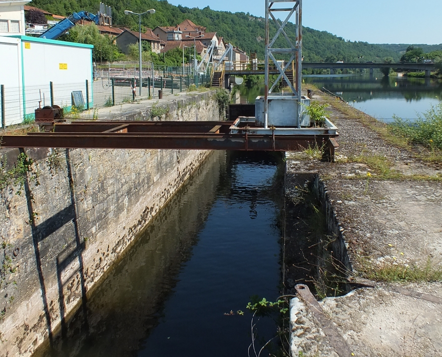 Écluses & Chaussées - Capdenac - Écluse de Capdenac (Capdenac-Port) -