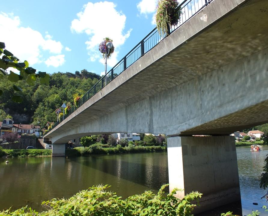 Ponts & Viaducs - Capdenac - Pont routier sur le Lot (Capdenac-Port) -