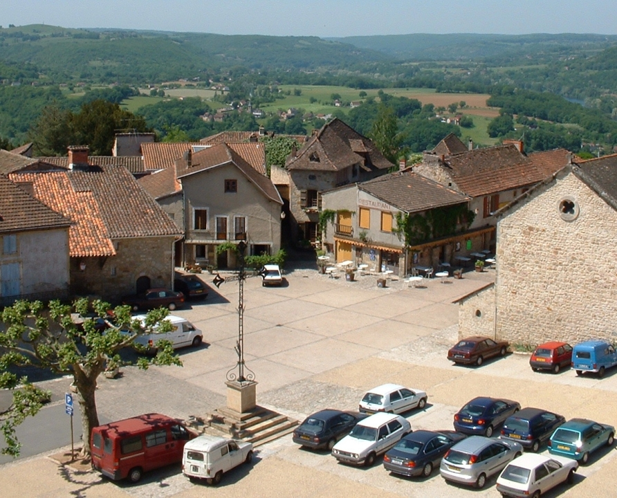 Rues & Ruelles - Capdenac - Place Lucter (Capdenac-le-Haut) -