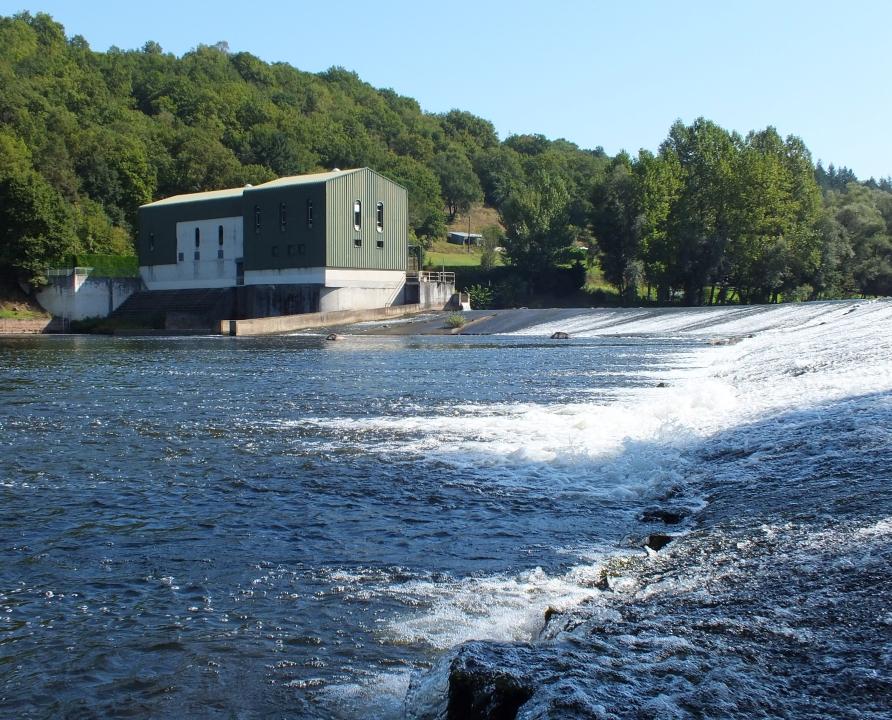 Centrales électriques - Capdenac - Centrale hydroélectrique de Juniac -